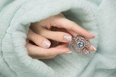 """Подвес """"Зимняя сказка"""" в Блоге Анны Гореловой: - За серебряные украшения спасибо Oringo.com.ua !!!"""