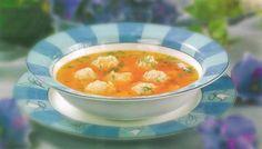 Суп с рыбными фрикадельками для детей.