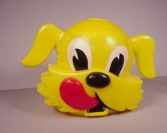 Vintage Ken L Ration Advertising Dog Cookie Jar 1950's by F F Mold Die Works