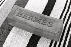 Hermes Glycerine Saddle Soap, smells fantastic!