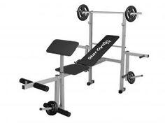 Aparelho de Musculação StarGym S500 com 1 Barra - 2 Anilhas de 5kg 2 Anilhas de 2kg 2 Anilhas de 1kg