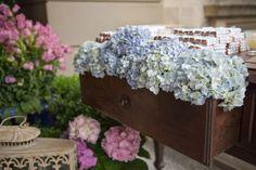Espécies de flores para o casamento de verão