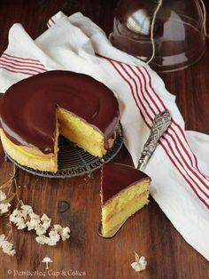 Tarta Boston Cream Pie