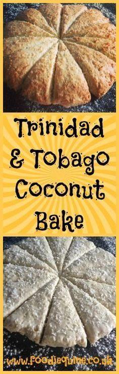 Trinidad and Tobago Coconut Bake Foodie Quine Coconut Bake (coconut scone) recipe from Trinidad & Tobago – Trinidadian Recipes, Guyanese Recipes, Jamaican Recipes, Carribean Food, Caribbean Recipes, Tamarindo, Coconut Scones Recipe, Roti, Trini Food