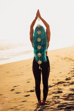 ☾☽ Lady Scorpio ☆ @LadyScorpio101 LadyScorpio101.com ✦ Align your Chakras with the new gold wall hanging Yoga Lovers Namaste