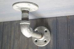 Industrial Pipe shelving bracket Pipe shelf wall by IndustrialEnvy