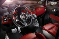 Interior Fiat Abarth 595 50th Anniversary (2013 - Edition 6) #fiat500 #abarth