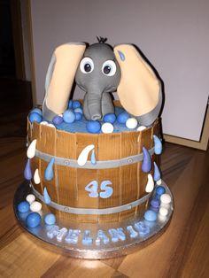 Elefant im Fass Fondant
