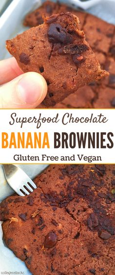 #sponsored Craving gluten free brownies or vegan banana bread? How about a combination of the two that just happens to be packed with superfoods from Matakana SuperFoods? These Superfood Chocolate Banana Brownies are healthy enough to eat for breakfast but decadent enough to enjoy as a delicious gluten free dessert. Vegan brownies and gluten free banana bread just got one tasty superfood upgrade!