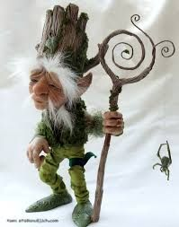 Image result for polymer clay elves