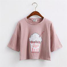 Купить товарВеселые Довольно летом 2016 новый Harajuku женщины футболка…