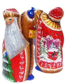 GreatRussianGifts.com - Russian Church Hand Carved Wooden Santa,  http://www.greatrussiangifts.com/russian-church-hand-carved-wooden-santa/