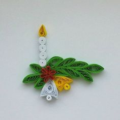 Quilling Christmas, Christmas Crafts, Christmas Ornaments, Paper Quilling Designs, Quilling Art, Origami, Arts And Crafts, Paper Crafts, Quilling Techniques