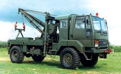 BEDFORD 4X4 - MILITARY TOW TRUCK