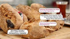 33 saniyede Zeytinli Kuru Domatesli Ekmek - Show TV