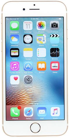 Apple IPhone 6s A1633 64GB for AT&T Gold Silver Rose Gray