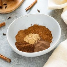 Homemade Pumpkin Pie Spice is the perfect blend of warm spices for amazing pumpkin pie, oatmeal, lattes and so much more! Homemade Pumpkin Pie, Pumpkin Pie Bars, Baked Pumpkin, Homemade Spice Blends, Homemade Spices, Peanut Butter Oatmeal, Oatmeal Chocolate Chip Cookies, Almond Butter, Oatmeal Cream