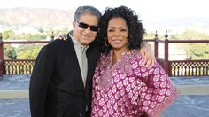 Deepak Chopra and Oprah in India. The pin leads back to the hour long special. Enjoy it!