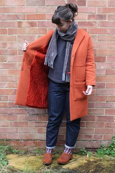 I thought I would just pop by to show you my Honetone coat which I personally wear. Although not brand newly made it is keeping me. How To Make, How To Wear, Wool, Sewing, Winter, Fashion, Winter Time, Dressmaking, Moda