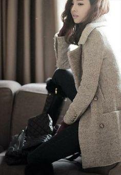 Ladies classy designer inspired coat.