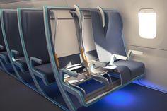 座席幅を調整できる旅客機シート「Morph」 « WIRED.jp