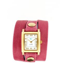 just ordered this la mer watch! love the color for spring!!