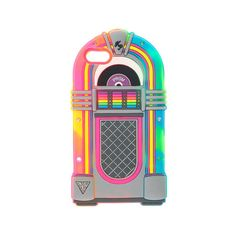 Katy Perry Juke Box Light Up Phone Case iPhone 5/5S ($19) ❤ liked on Polyvore
