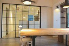 馬的家全剖析之一:餐廳兼書房的設計 | 小院,關於家的設計