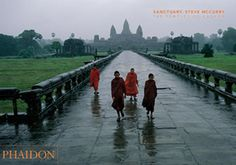 Beautiful and evocative photographs of the temples of Angkor in Cambodia, among the world's most impressive monuments, by the great colourist photographer of Southeast Asia, Steve McCurry.
