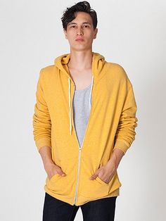 Shop American Apparel - Find fashionable basics for men, women, children, and babies. Breaking Bad Costume, Zip Hoodie, American Apparel, Hooded Jacket, Costumes, Hoodies, Jackets, Clothes, Shopping