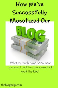 How I Monetize Our Blog – The Details