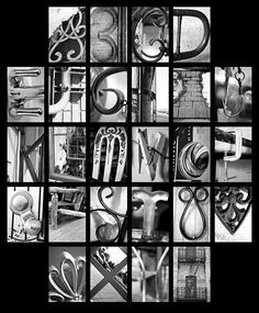 Letter Made Out Of Objects.97 Best Letter Made Out Of Objects Images Alphabet