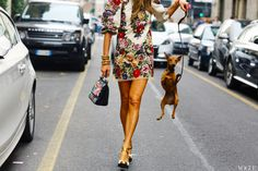 Dolce & Gabbana dress and bag