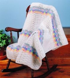 Baby Afghan ~ free pattern ᛡ
