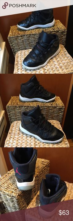 Like New Air Jordan 11 72-10 size 3Y Nike Air Jordan 11 Retro 72-10 Black #378039-002 Size 3Y. These sneakers are in excellent used condition. Only wear is a little dirt on the bottom, almost like new. Box is included. Originally 90.00 Jordan Shoes Sneakers