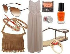 boho wedding guest outfit - Google Search