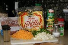 Light Mexican Lasagna