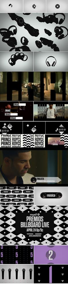 style frames - motion graphics -Mun2 Musica on Behance