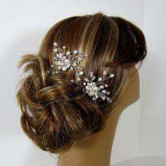 Bridal Hair Pin Wedding Hair Accessories by adrianasparksacc, $20.00