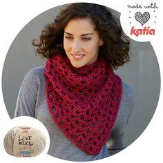 Especial Love Wool: 8 patrones para tejer con amor | http://www.katia.com/blog/es/especial-love-wool-8-patrones-tejer-amor/