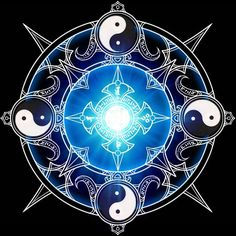 Magic spell circle