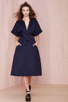 Navy dress | Petfect Tailoring