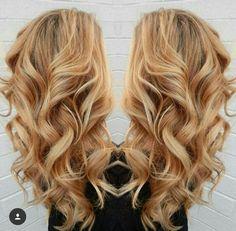 #blonde #hair #haare #curls #locken #wunderschön #cool