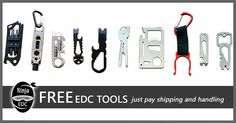 Ninja EDC Tools & Accessories-Unique Rewards program Freebies & Discounts with no purchase required | Crowdfunding is a democratic way to support the fundraising needs of your community. Make a contribution today!