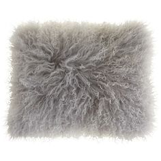 Pier 1 Imports Mongolian Wool Lumbar Pillow ($70) ❤ liked on Polyvore featuring home, home decor, throw pillows, grey, pillow, grey accent pillows, pier 1 imports, grey throw pillows, grey home decor and gray throw pillows