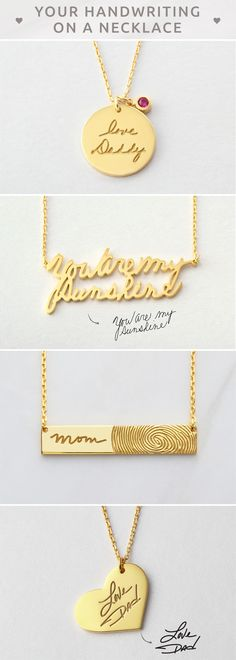 Signature bar necklace • Personalized Signature Necklace • Fingerprint bar necklace • Custom handwritten necklace • Actual handwriting jewelry • Handwriting gift • Memorial signature jewelry • Handwritten necklace • Keepsake necklace • Sympathy necklace • Sympathy necklace • bridesmaid presents • unique engagement gift ideas for couples • best gifts for teachers • teacher christmas gifts • presents for mom christmas • sweet 16 gift ideas