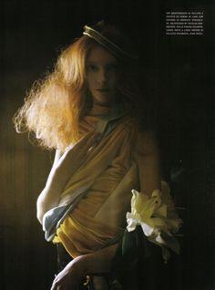 A Private World Vogue Italia November 2008 Photographer: Tim Walker Models: Sunniva Stordahl a...