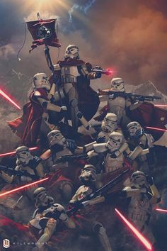 Whaaaaat!!!!!! Star Wars Clones, Star Wars Rpg, Star Wars Fan Art, Star Trek, The Machine, Storm Troopers, Star Wars Wallpaper, Empire Wallpaper, Sith