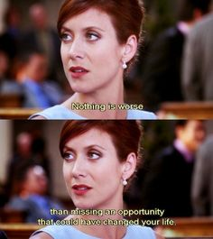 """[We] don't get unlimited chances to have the things that we want"" -Addison"