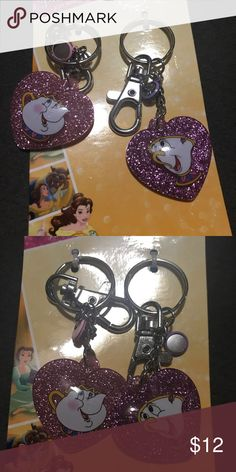 Disney Chip&Mrs.Potts key chains Price firm Disney Accessories